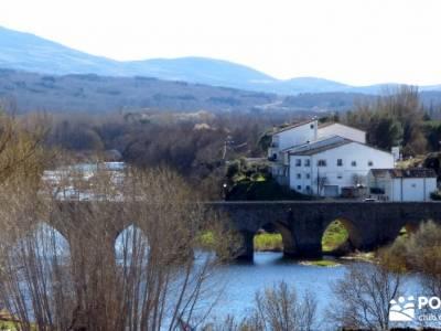 Cerezos en flor en el Valle del Jerte - Río Tormes;senderos montañas sitios para visitar en madrid